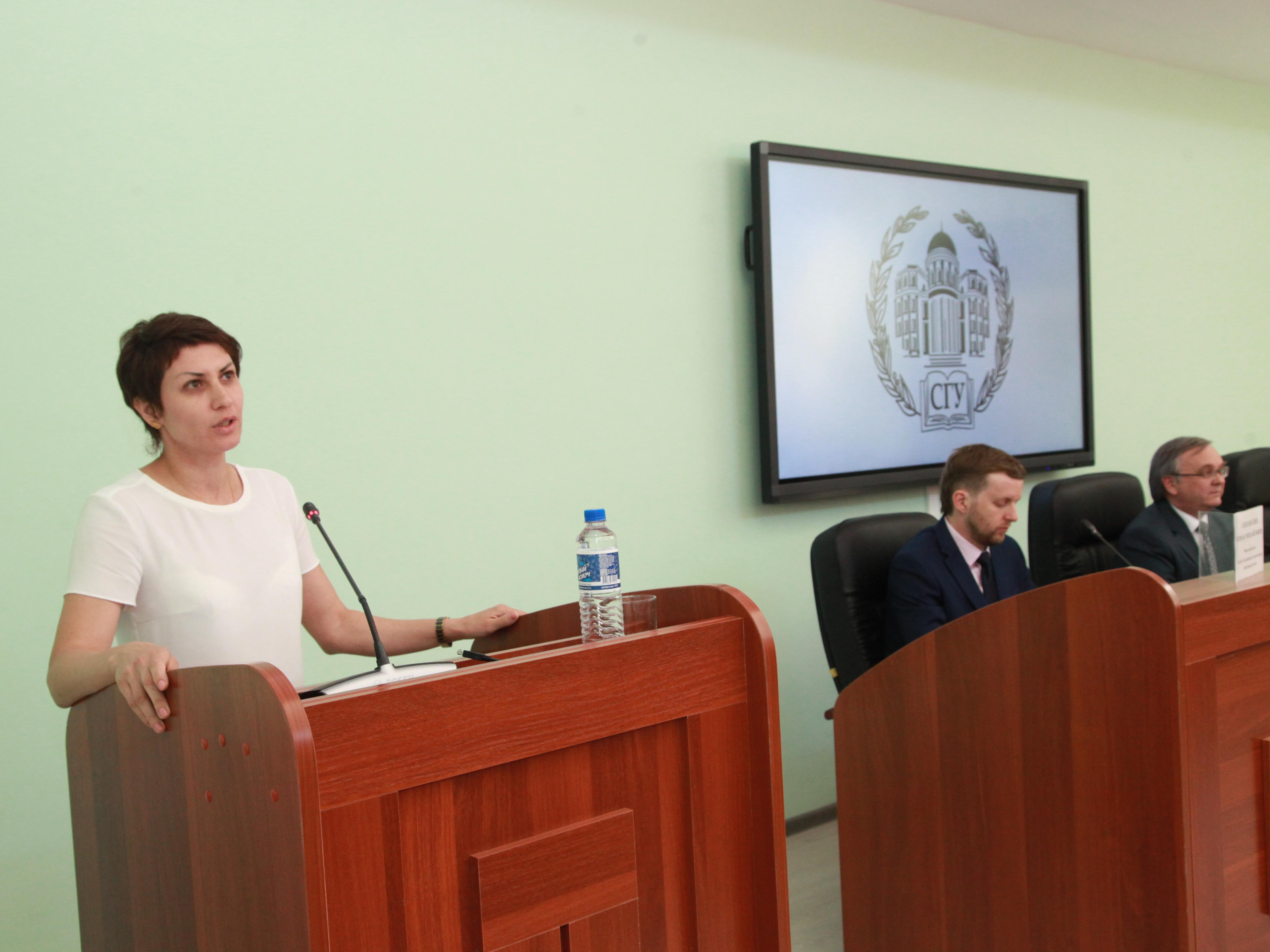 В СГУ прошло заседание рабочей группы по вопросам студенческого спорта и физической культуры