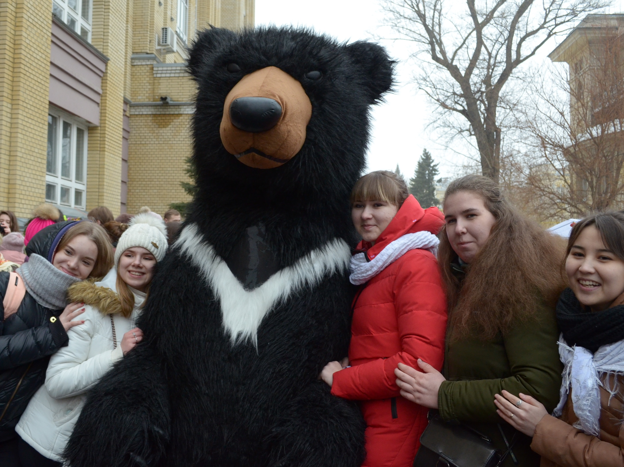 Saratov University Said Goodbye to Winter and Welcomed Spring at
