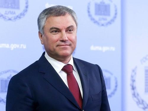 В.В. Володин поздравляет коллектив СГУ с Днём великой Победы