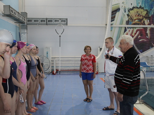 Lesson with a Champion Held for Students of Boarding Lyceum 64